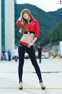 Korean Racing Model Hwang Mi Hee Hot Korean Models