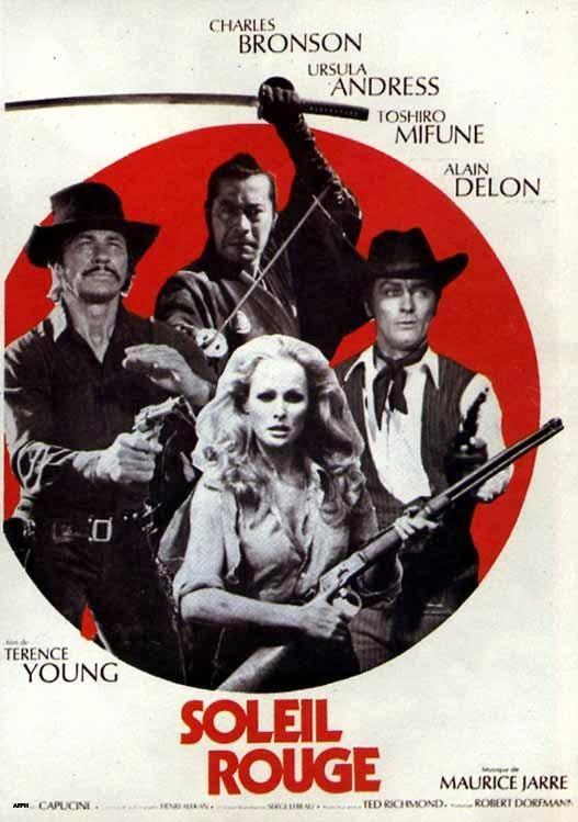Sol Rojo (1971) | Caratula | Spaghetti Western | Western