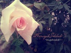 Tinta alFarasyah Solehah ♥