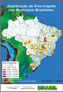 Mapeamento nacional vai revelar áreas com grande potencial irrigável