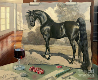caballo-surrealismo-cuadro-pintura-oleo