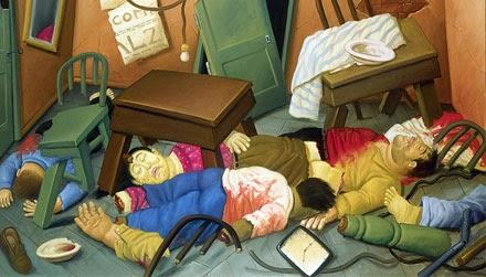 Botero: Masacre en Ciénaga Grande