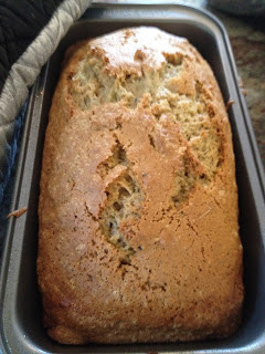 Zucchini Bread Revisted - A Healthier Version