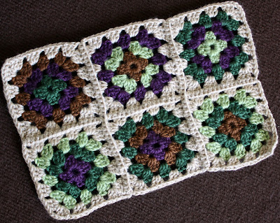 how to join crochet squares with single crochet
