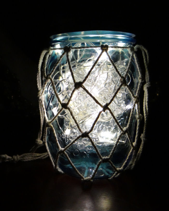 LED Jar Lamp tutorial