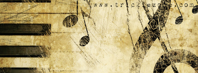 Facebook Timeline Cover Classical Music Passion Caramel Brown