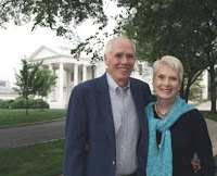 Jerry and Jeanne at the White House