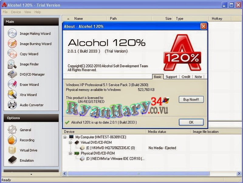 Alcohol 120.1471005 retail with key