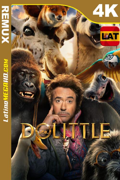 Dolittle (2020) Latino HDR Ultra HD BDREMUX 2160P ()