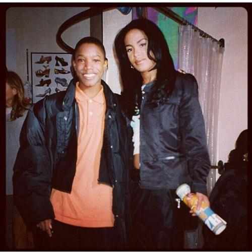 aaliyah on the set of romeo must die rare photo - Romeo Must Com