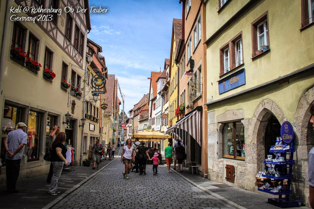 Rothenburg Ob Der Tauber Germany  City pictures : Kali : Rothenburg ob der Tauber: Germany's Fairy Tale Dream Town