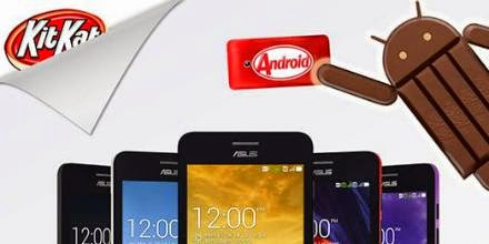 Zenfone 4 lên đời KitKat
