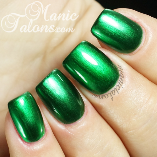 Bundle Monster Hollywood and Ivy Metallic Gel Polish Swatch