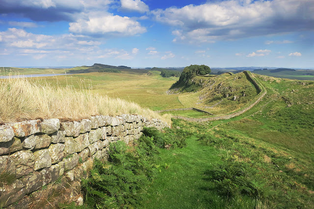 Housestead's Roman Fort - one of the best bits on the Hadrian's wall walk