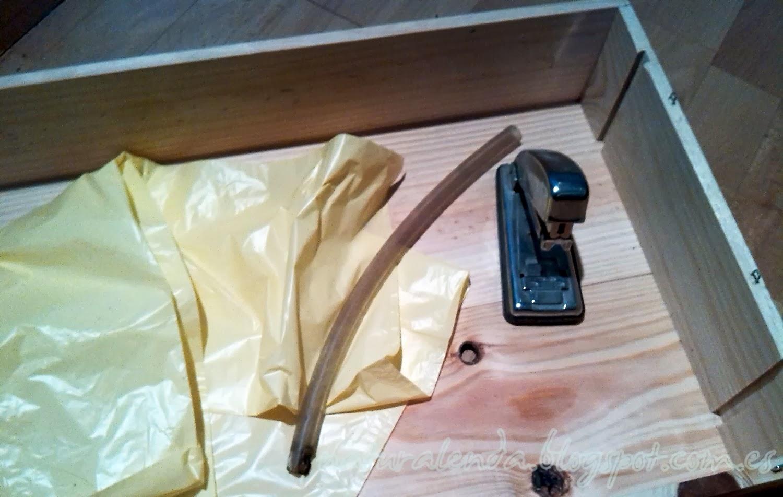 materiales para hacer la mesa de cultivo