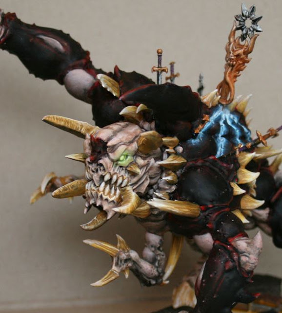 Close up image of Slaughterbrute