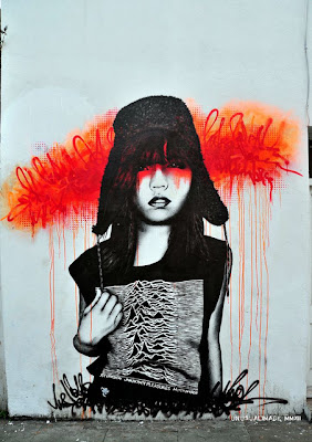 grafis tribal - female murals