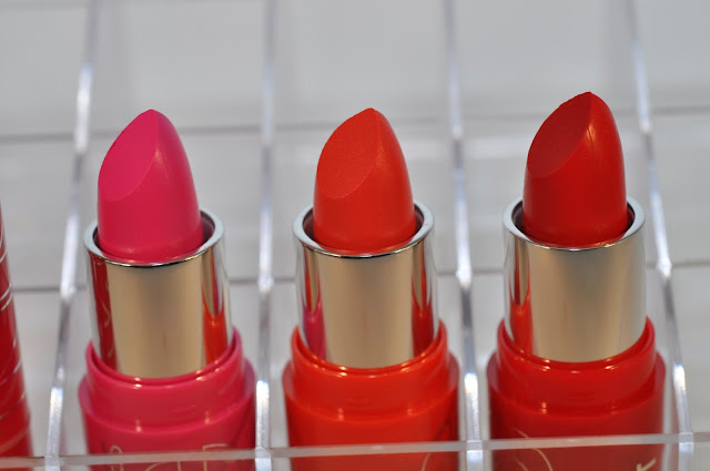 NYC Expert Last Lip Color Lipstick in Forever Fuchsia, Coralista and Traffic Jam