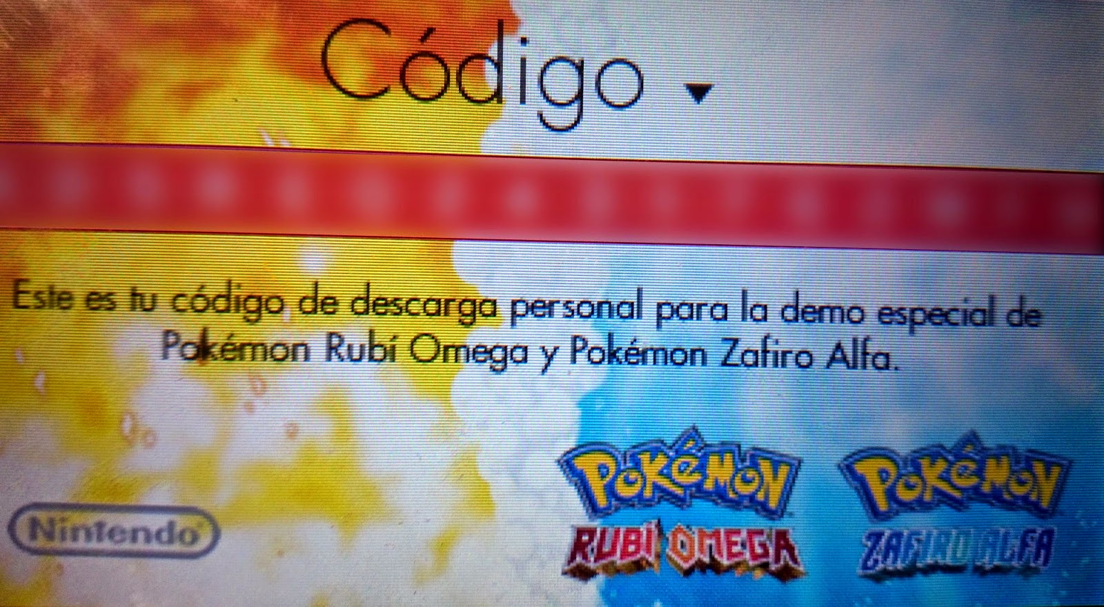 codigo demo especial pokemon