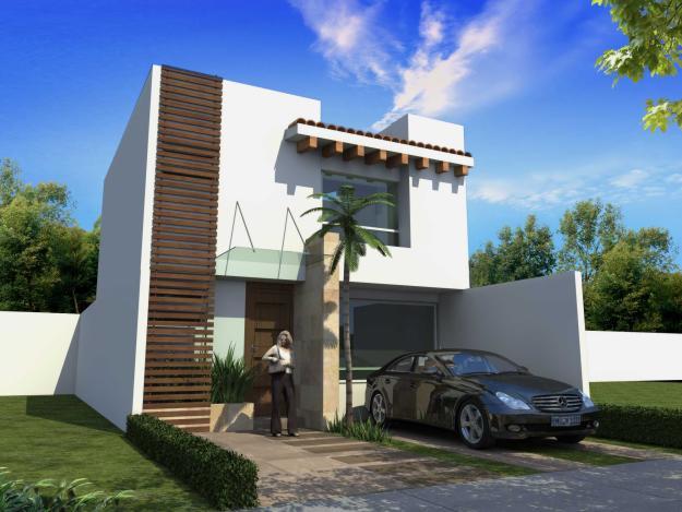 Casas mexicanas casa mexicana con estilo contempor neo for Fachadas de casas estilo contemporaneo