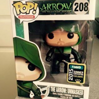 Funko Pop! Arrow Unmasked SDCC2015