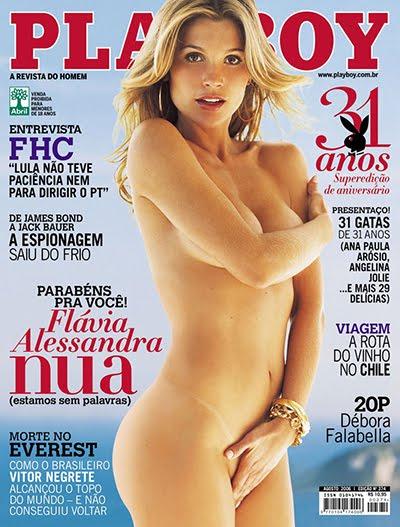 Flávia Alessandra pelada