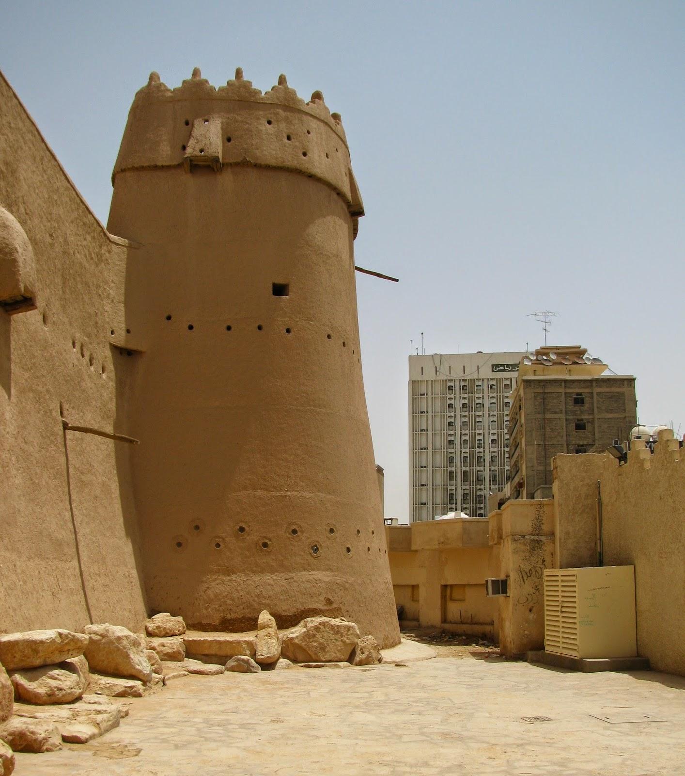 Saudi arabia the mud houses of old riyadh minor sights for Modern mud house architecture