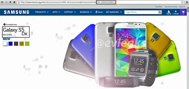 Samsung Galaxy S5 Dx