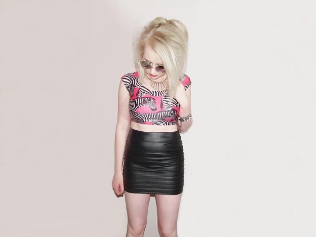 Sammi Jackson - Pink Zebra Print