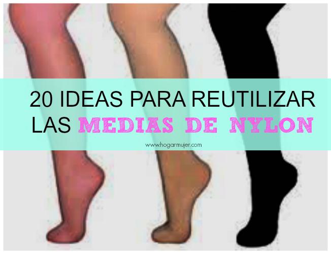 20 ideas para reutilizar las medias de nailon for Ideas para mi hogar
