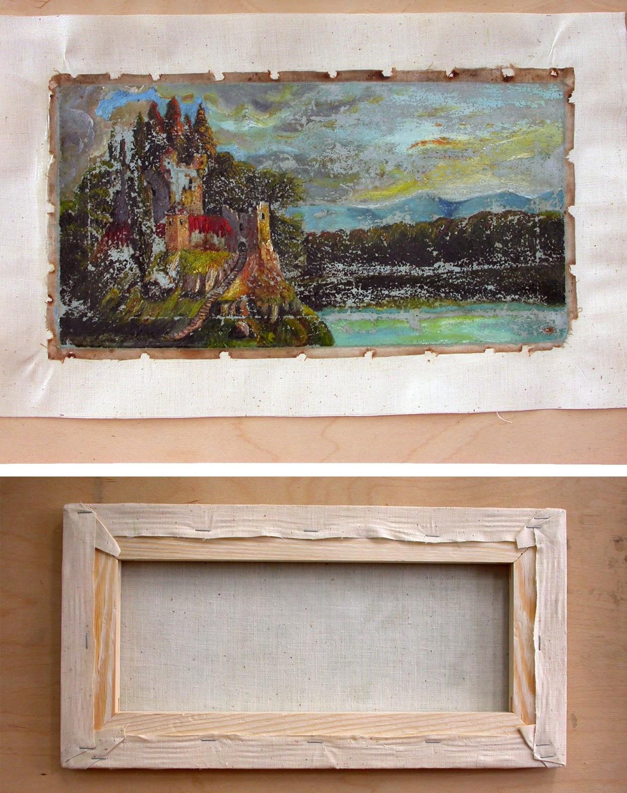 Реставрация картин икон своими руками 2