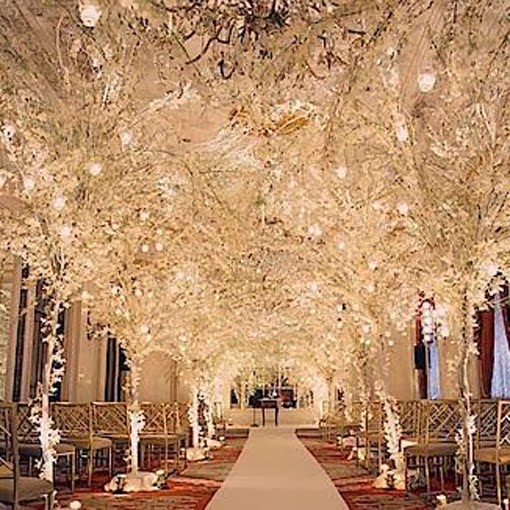 Winter Wedding Ceremony Ideas: Memorable Wedding: Wedding Ceremony Aisle Decorations