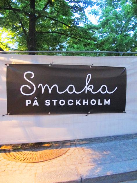 Taste of Stockholm!