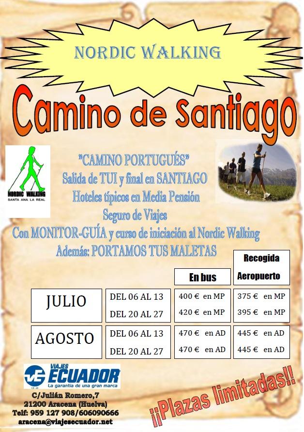 NORDIC WALKING - CAMINO DE SANTIAGO