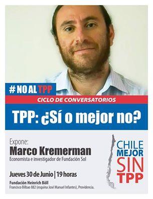 PROVIDENCIA: # NO AL TPP, CICLO DE CONVERSATORIOS