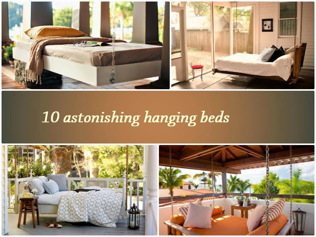 10 astonishing hanging beds