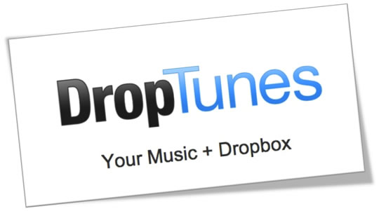 Reproduce tu música desde Dropbox con Droptunes.