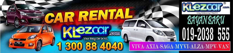 Penang Car Rental, KLezCar Bayan Baru