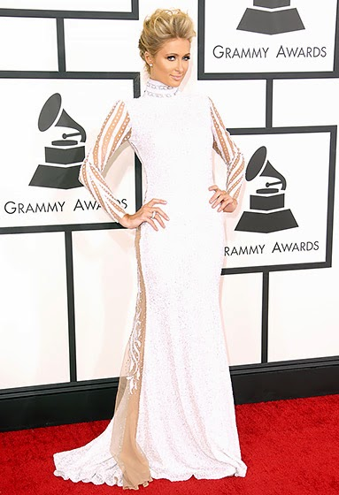 Paris Hilton: 2014 Grammy Awards