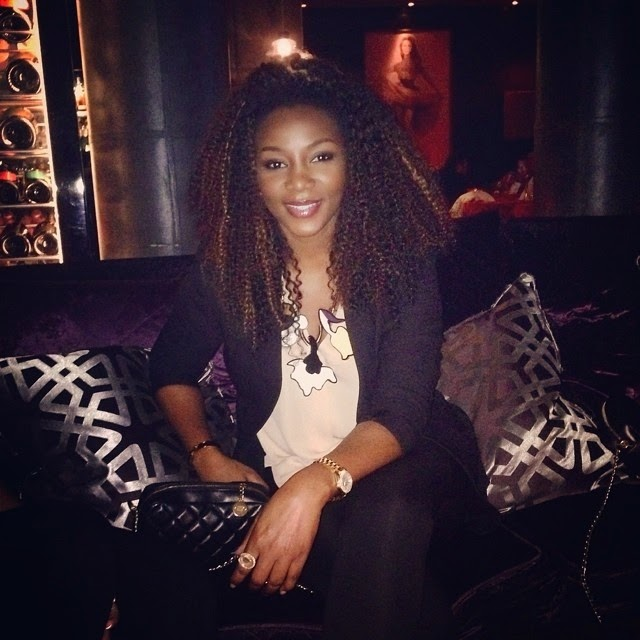 genevieve nnaji night club