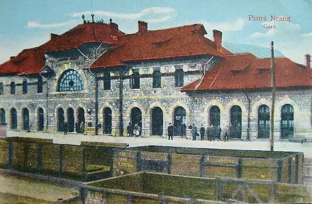 Gara din Piatra Neamt