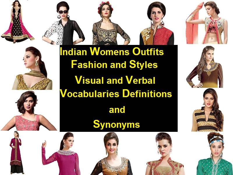 Indian outfits styles Visual-Verbal Vocabulary Definitions - Indian ...