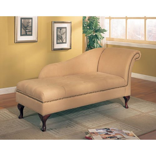 upholstered chaise lounge for bedrooms tan chaise with storage