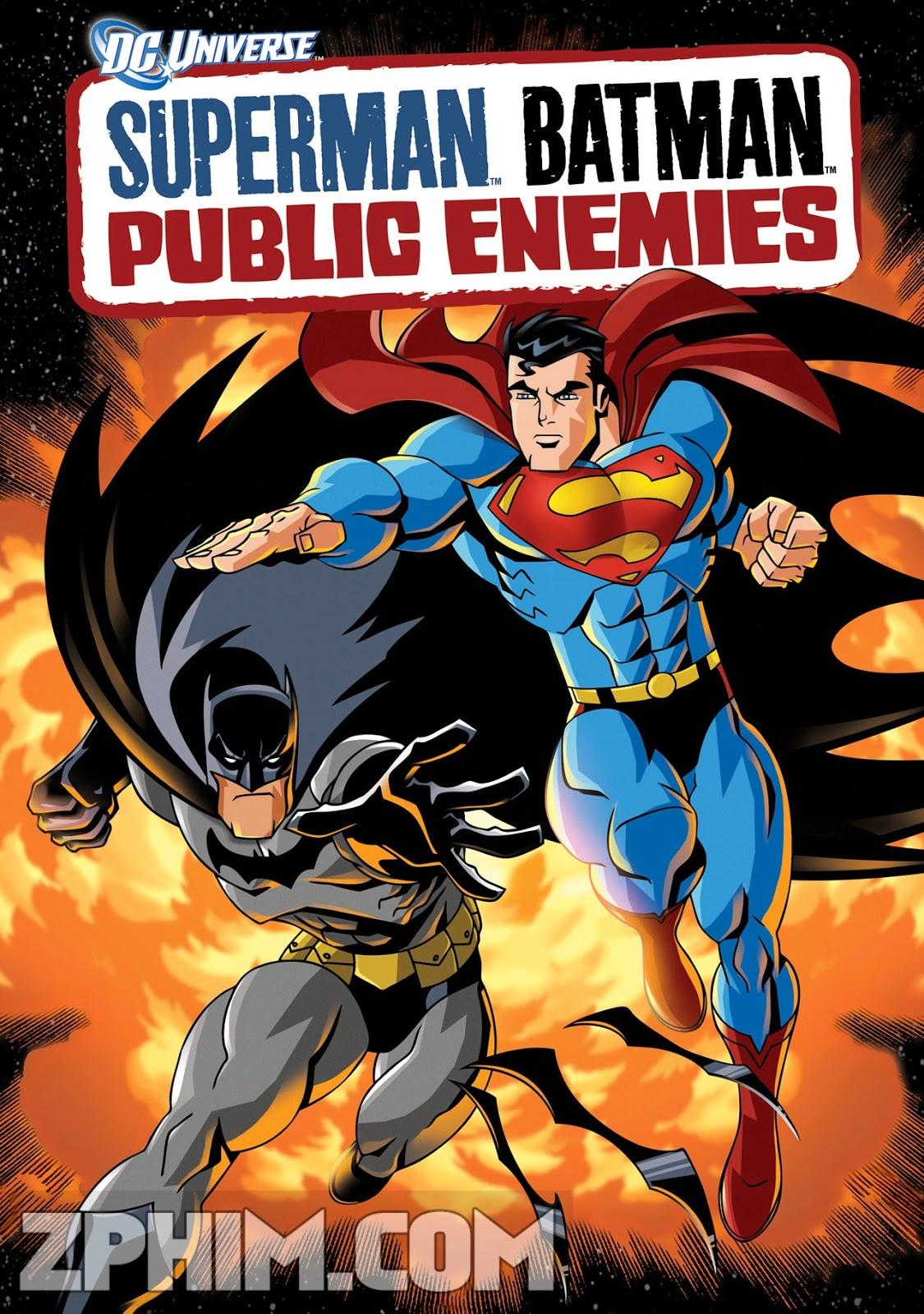 Siêu Nhân Và Người Dơi - Superman/Batman: Public Enemies (2009) Poster