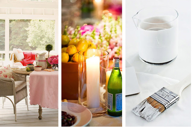 Colour, flowers, art and ornaments. Quick tips for sprucing up your house