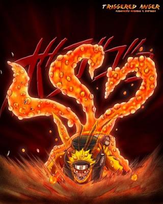 Naruto Kyubi Ekor 3