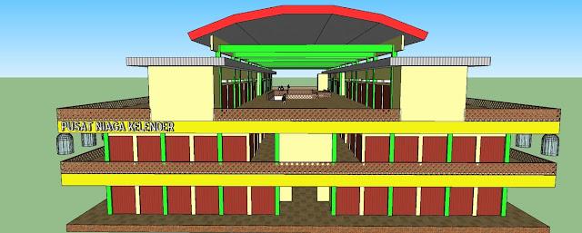 Site Plan Sentra Komersial