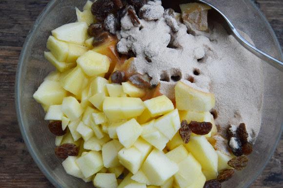 Kleine appel kruimeltaartjes bakken met Koopmans