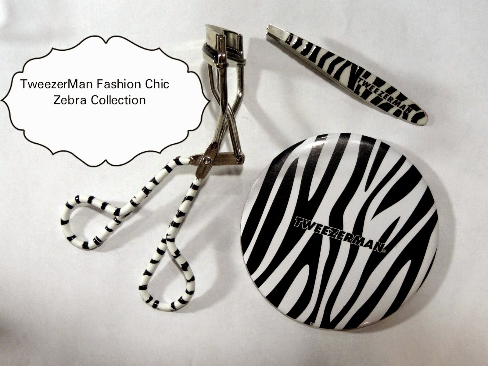 TweezerMan Fashion Chic Zebra Collection