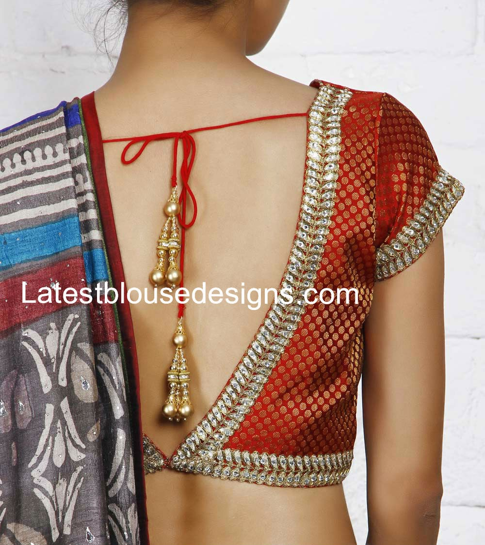 latest blouse designs 2014